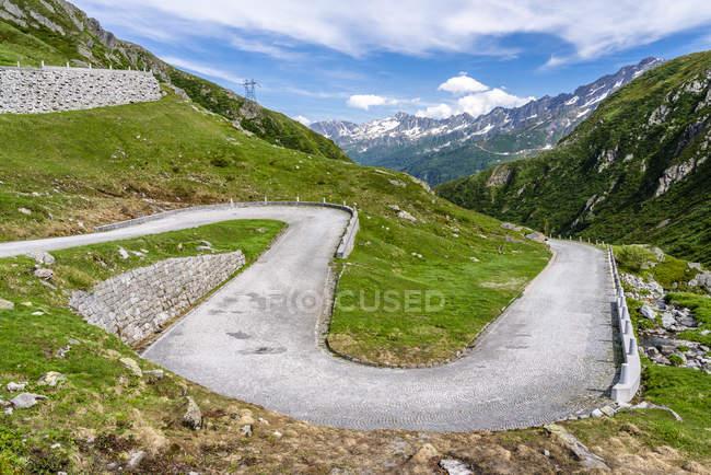 Switzerland, Ticino, Tremola, Gotthard Pass — Stock Photo