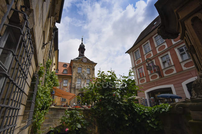 Alemania, Alta Franconia, Bamberg, Casco antiguo - foto de stock
