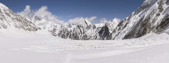 Непал, Соло Кхумбу, Эверест, Национальный парк Сагамартха, Западный Цум, Лагерь 1 — стоковое фото