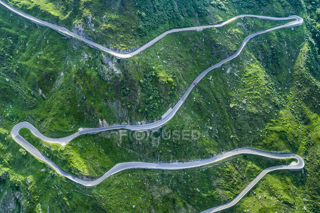 Switzerland, Canton of Uri, Urseren Valley, Furka pass — Stock Photo