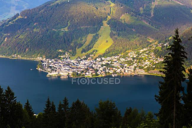 Austria, Salzburg State, Zell am See, Zell lake — Stock Photo