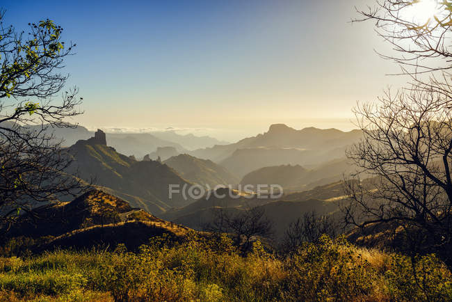 Spain, Canary Islands, Gran Canaria, mountain landscape — Stockfoto