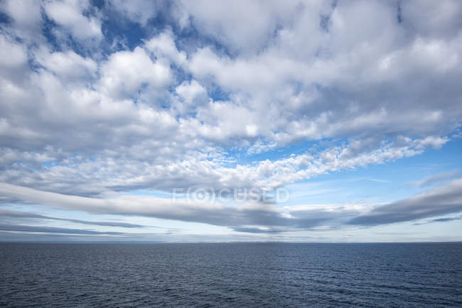 Netherlands, North Sea and clouds — Stock Photo
