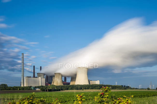 Germany, Grevenbroich-Neurath, Neurath Power Station — Stock Photo