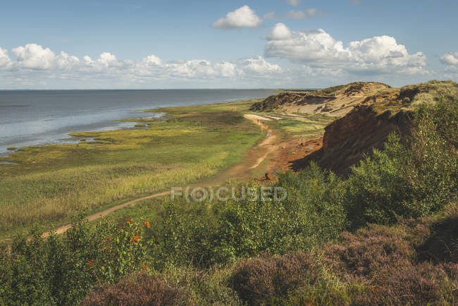 Germany, Schleswig-Holstein, Sylt, Morsum, Morsum Kliff — Stock Photo