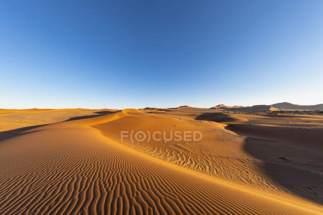 Africa, Namibia, Namib desert, Naukluft National Park, sand dunes — Stock Photo
