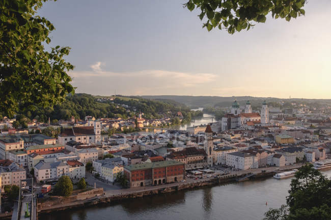 Germany, Bavaria, Passau, city view at daytime — Fotografia de Stock