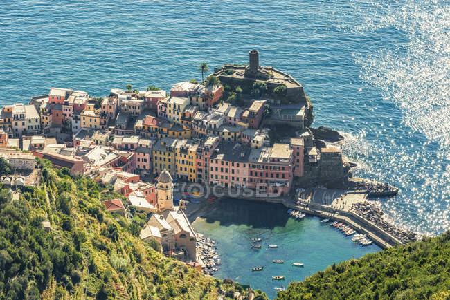 Itália, Ligúria, Cinque Terre, Vernazza — Fotografia de Stock
