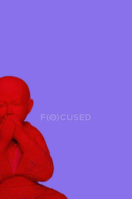 3D Rendering, buddha keeping silence — Photo de stock