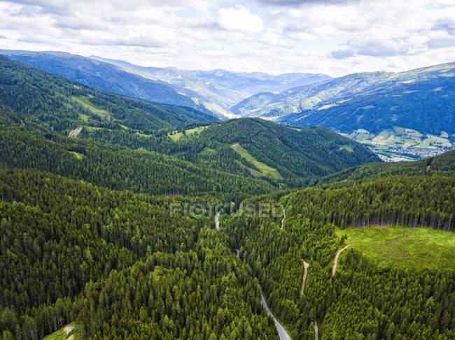 Austria, Carinzia, Katschberg di giorno — Foto stock