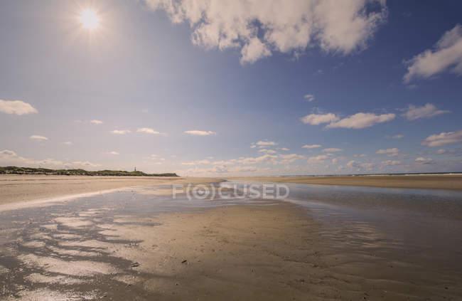 Allemagne, Basse-Saxe, île de la Frison orientale, Juist, paysage de plage — Photo de stock
