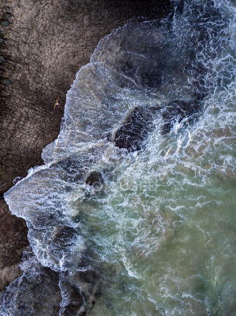 Indonesia, Bali, Aerial view of Dreamland beach — Fotografia de Stock