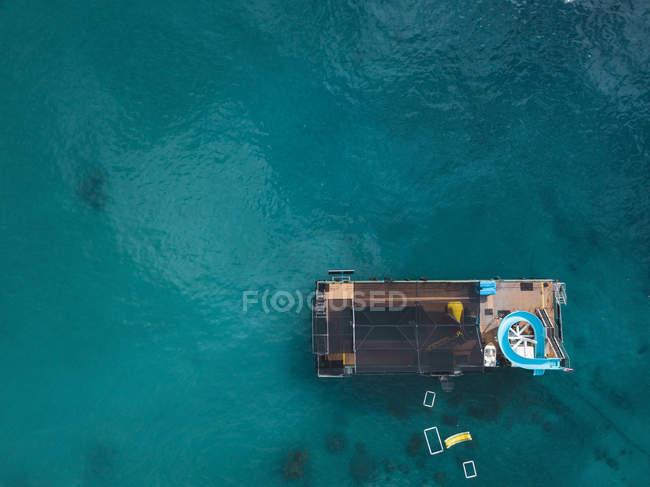 Indonesia, Bali, Veduta aerea della piattaforma balneare — Foto stock