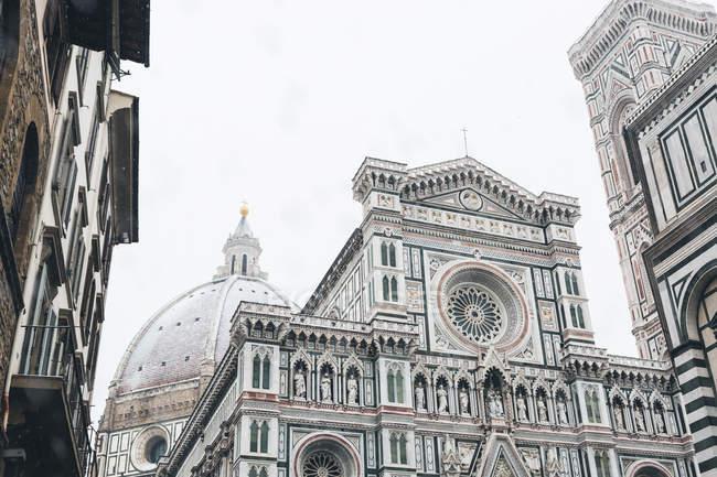 Itália, Florença, Basílica de Santa Maria del Fiore no inverno — Fotografia de Stock