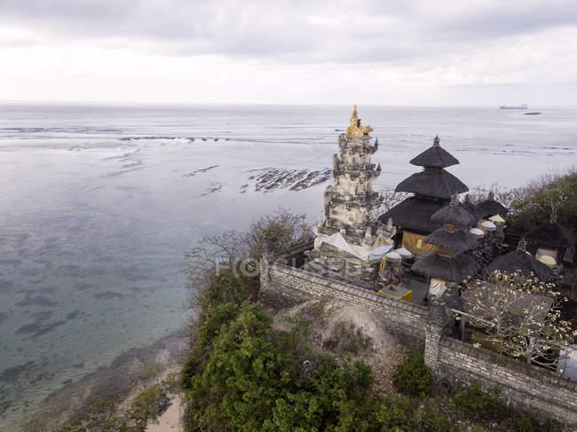 Indonesia, Bali, Veduta aerea della spiaggia di Nusa Dua — Foto stock