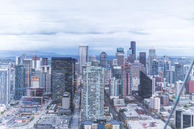 États-Unis, État de Washington, Seattle, Skyline — Photo de stock