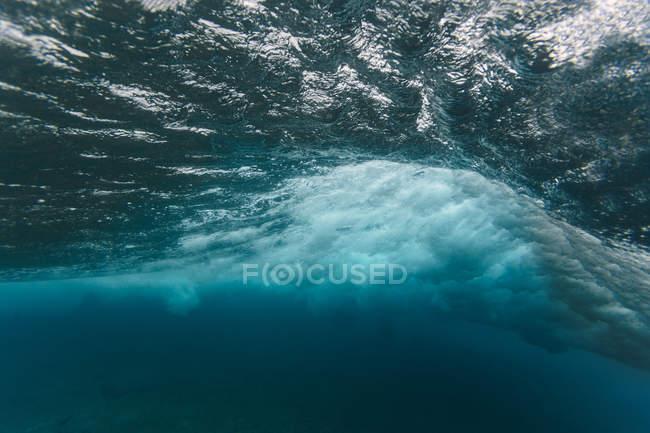 Maledives, Ocean, underwater shot, wave — стокове фото