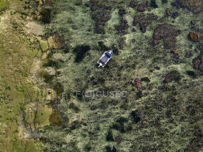 Indonesia, Bali, Aerial view of boat — Stock Photo