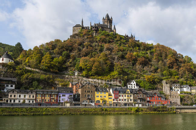 Allemagne, Rhénanie-Palatinat, Cochem, Moselle, Château de Cochem — Photo de stock