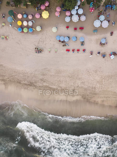 Indonesia, Bali, Kuta, Aerial view of Padma beach — Fotografia de Stock