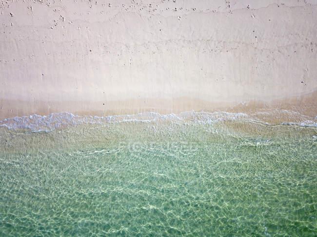 Indonésie, Bali, Vue aérienne de la plage de Karma — Photo de stock