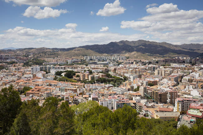 Spain, Andalusia, Malaga, cityview at daytime — Stock Photo