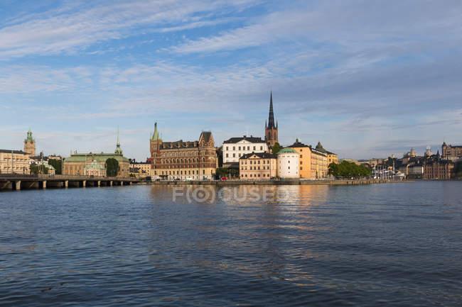 Svezia, Stoccolma, Riddarholmen di giorno — Foto stock