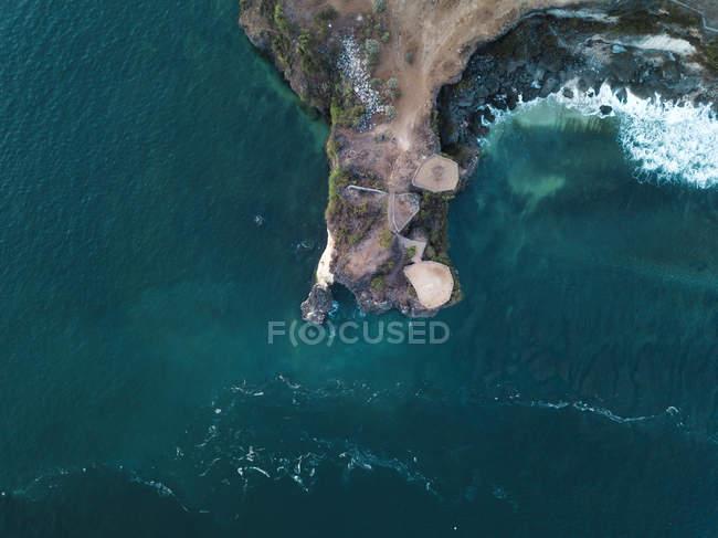 Indonesia, Bali, Veduta aerea della spiaggia di Balangan — Foto stock