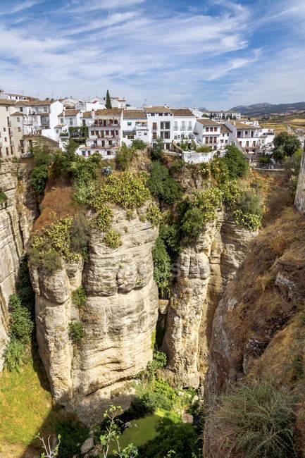 Espanha, Província de Málaga, Ronda durante o dia — Fotografia de Stock