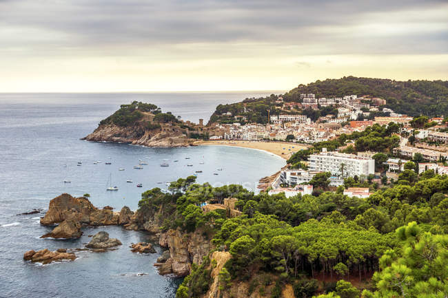 Spain, Catalonia, Costa Brava, Tossa de Mar — Stock Photo
