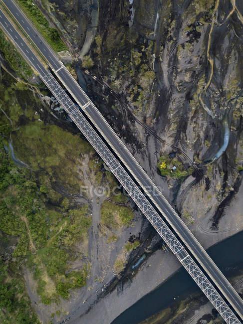 Indonésie, Bali, Vue aérienne du pont — Photo de stock