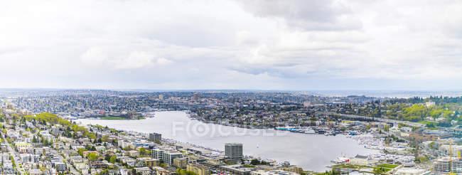États-Unis, État de Washington, Seattle, vue sur la ville — Photo de stock