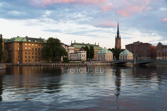 Sweden, Stockholm, Riddarholmen at daytime — Stock Photo