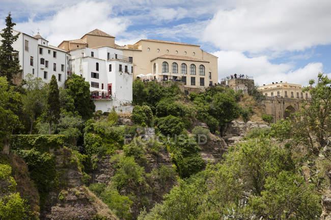 España, Málaga, Ronda durante el día - foto de stock