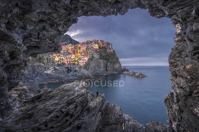 Italy, Liguria, La Spezia, Cinque Terre National Park, Manarola — Stock Photo