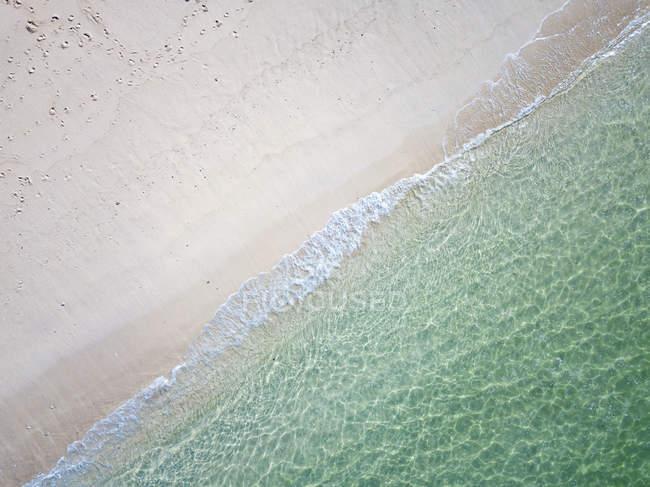 Индонезия, Бали, Вид с воздуха на пляж Карма — стоковое фото