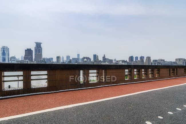 Chine, Shanghai, horizon du Bund — Photo de stock