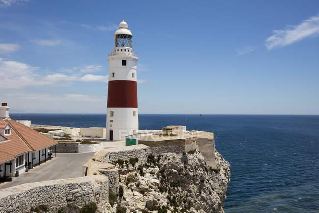 Gibilterra, faro a Europa Point — Foto stock