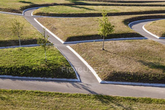 Alemanha, Baden-Wuerttemberg, Stuttgart, puplic park, maneiras — Fotografia de Stock