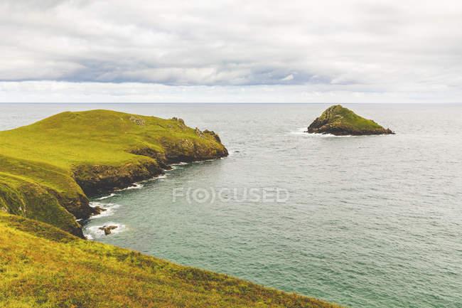 United Kingdom, Cornwall, costal area The Rumps — Stock Photo