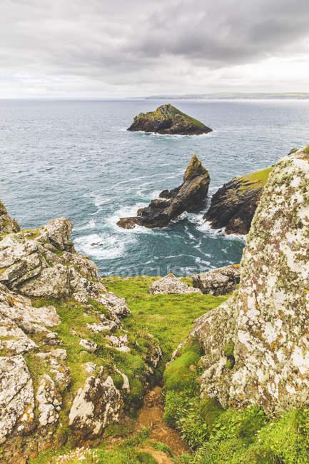 United Kingdom, Cornwall, coastal area The Rumps — Stock Photo