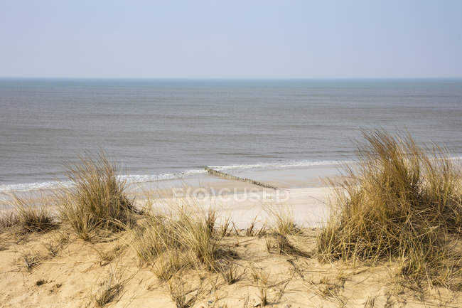 Germany, Schleswig-Holstein, North Frisian Islands, Sylt, view to beach at Rotes Kliff — Stockfoto