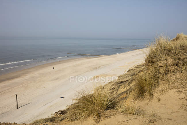Germany, Schleswig-Holstein, North Frisian Islands, Sylt, view to beach at Rotes Kliff — Stock Photo