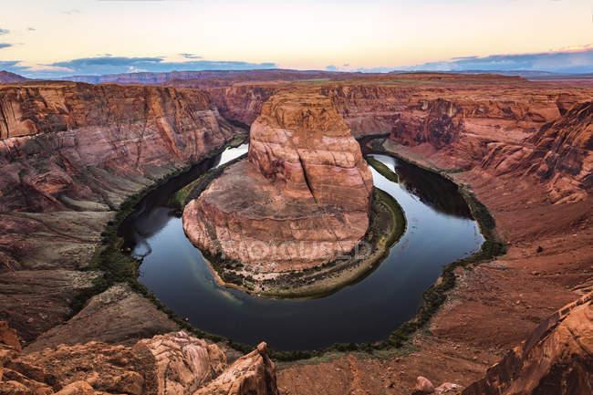 Estados Unidos, Arizona, Horsshue Bend - foto de stock