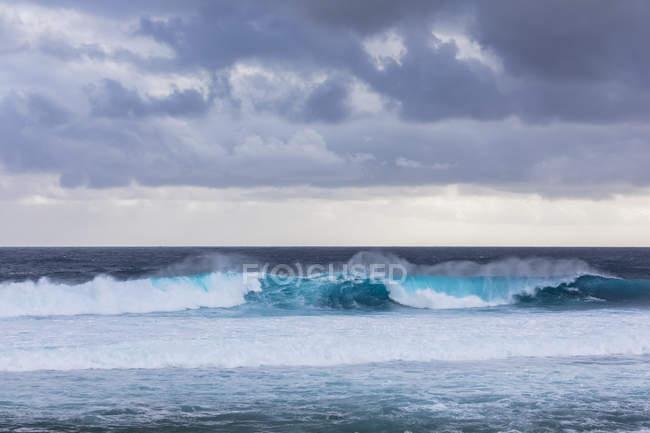 Reunion, West Coast, Grand Anse, Indian Ocean — Stock Photo