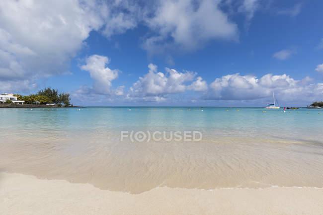 Mauritius, Costa occidentale, Oceano Indiano, Spiaggia di Pereybere — Foto stock