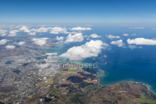 Mauritius, Indian Ocean, West Coast Port Louis — Stock Photo