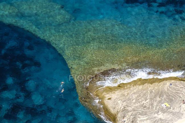 Corsica, spiaggia, vista panoramica — Foto stock