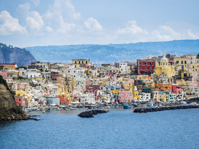 Italy, Campania, Gulf of Naples, Phlegraean Islands, Procida Island - foto de stock