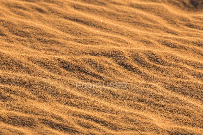 États-Unis, Californie, Death Valley, Death Valley National Park, Mesquite Flat Sand Dunes, plein cadre — Photo de stock
